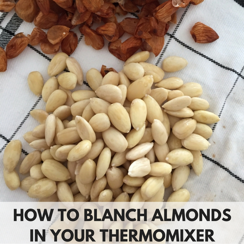How To Blanch Almonds In Your Thermomix