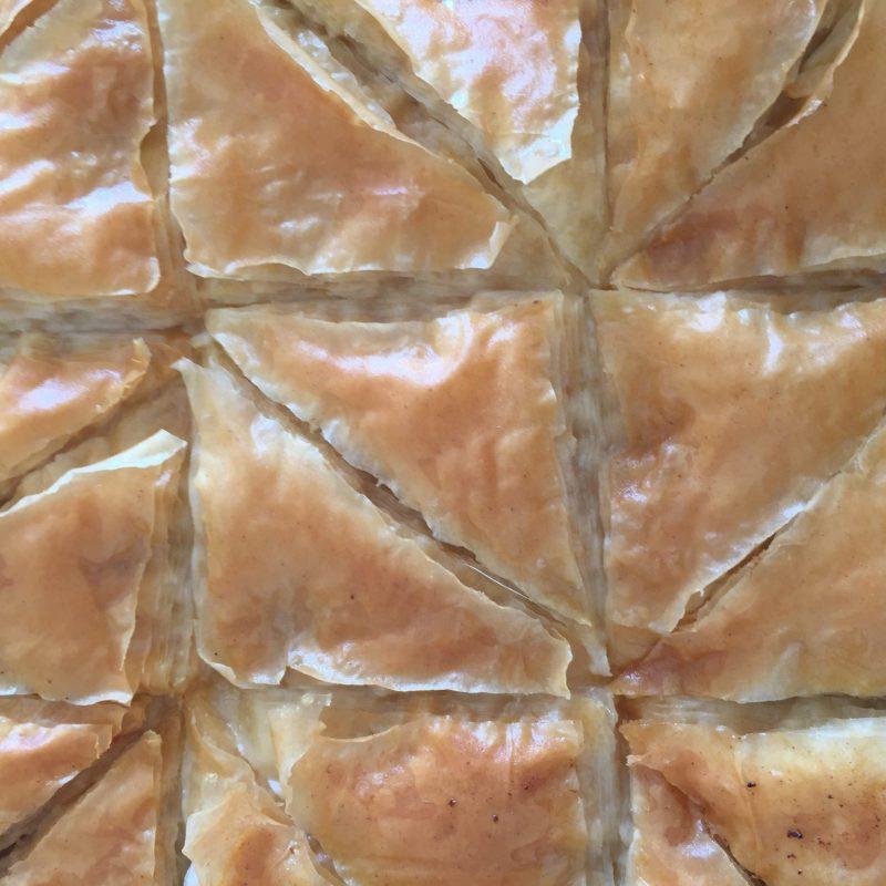 How To Assemble Galaktoboureko – Greek Custard Pie