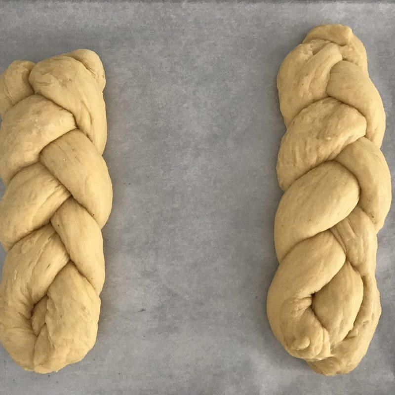 How To Roll Tsoureki Greek Easter Bread