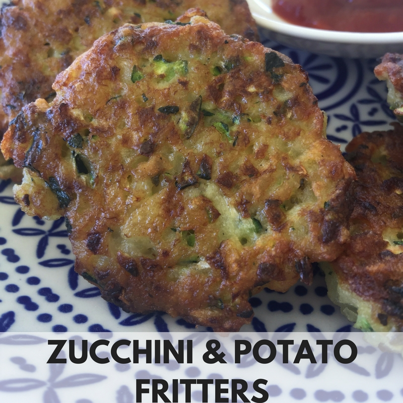 ZUCHINI & POTATO FRITTERS