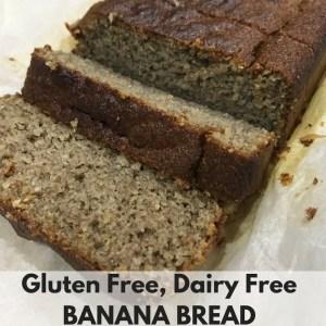 Gluten Free, Dairy Free, Thermomix Banana Bread Recipe