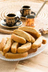 Paximadia Sweet Bread Rusks | Mezze | Fayi Cookbooks