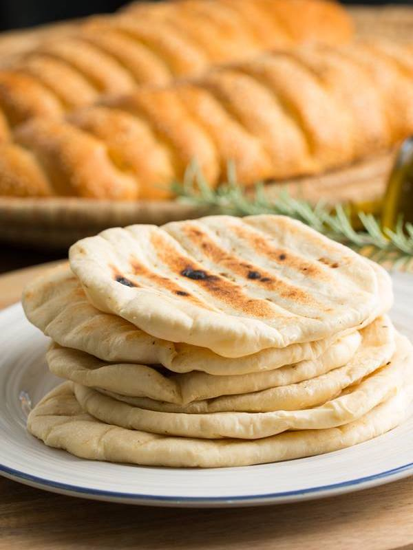 Thermomix Souvlaki Pita Greek Style Flat Bread