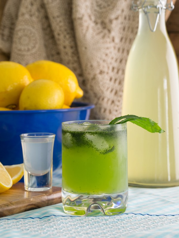 Ouzo Lemonade – Thermomix Recipe