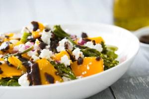 Thermomix Pumpkin & Brocollini Salad