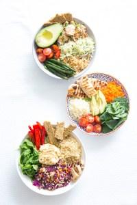 Thermomix Salad Poke Buddha Bowl
