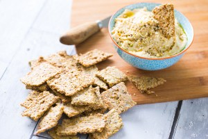 Thermomix Seed Crackers