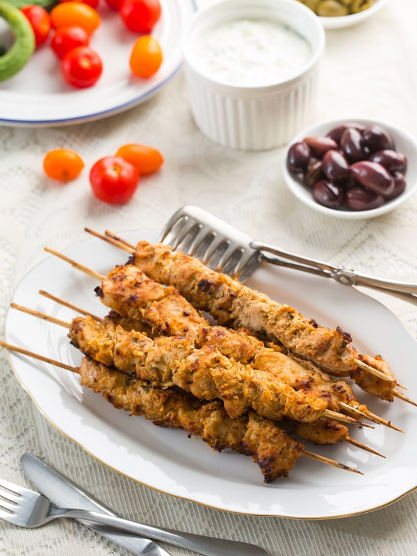 Thermomix Chicken Marinade for Souvlaki