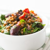 Thermomix Sundried Tomatoes and Lentil Salad