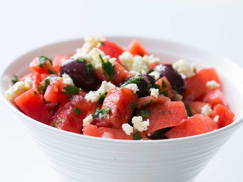 Thermomix Watermelon and Ricotta Salad
