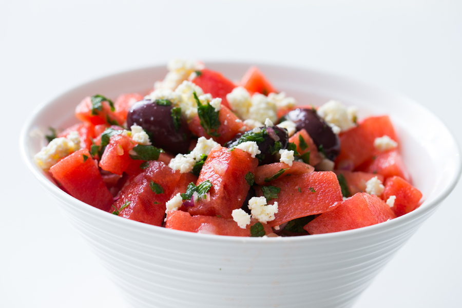 Thermomix Watermelon & Ricotta Salad