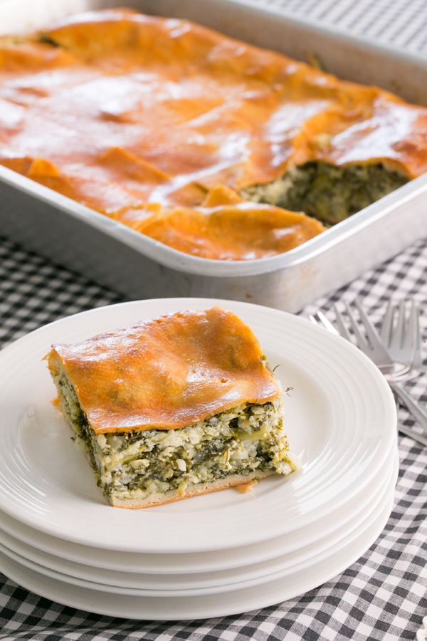 Thermomix Spanakopita Spinach Pie