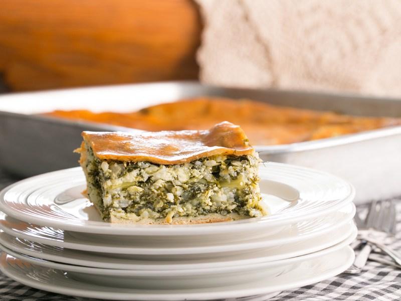 Thermomix Spanakopita Greek Spinach Pie