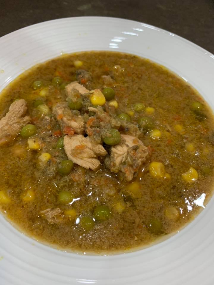 Thermomix Chicken and Vegetable Soup