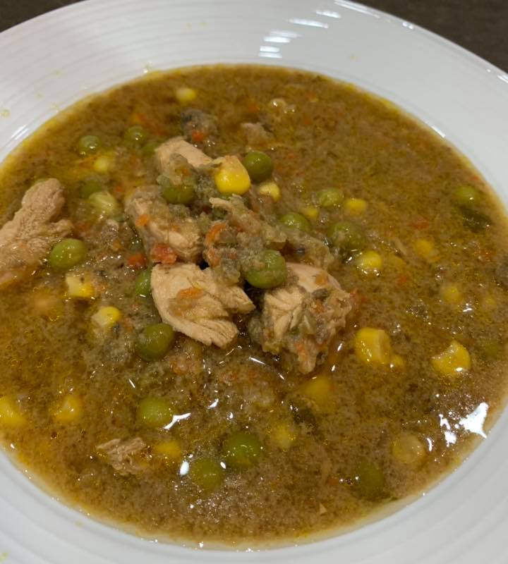Quick Chicken and Vegetable Soup – Thermomix Recipe