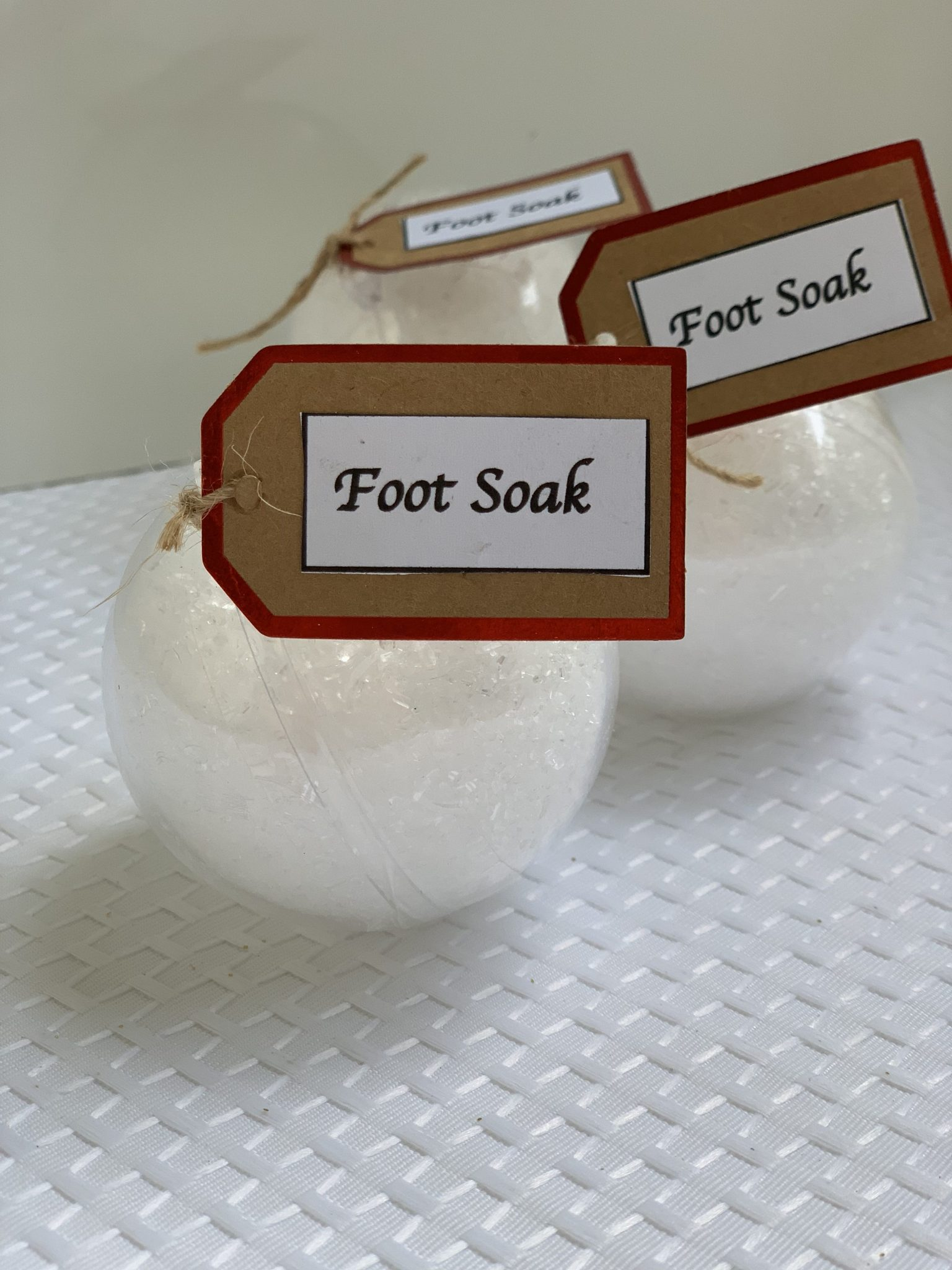 doTERRA Foot Soak