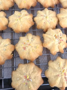 Butter Biscuit With Sprinkles