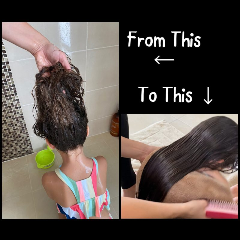 How To Detangle Matted Hair Painlessly