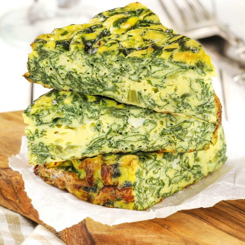 Green Frittata Recipe For Your Thermomix