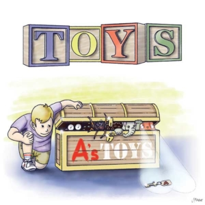 Digital illustration for Toys, a short story written and commissioned by Jan Ten Sythoff and illustrated by Jeff West.