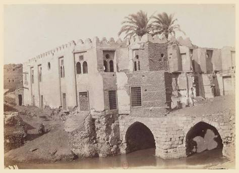 The Ruined Mosque during the 19th century.