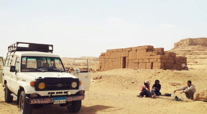 Qasr El Sagha Temple