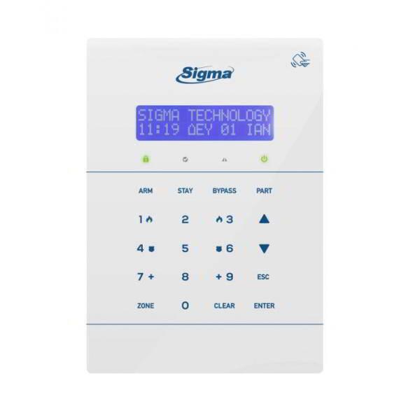 Sigma Security TRITON RFID W 1