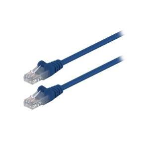 δικτυου utp cat5e 0 5 1m μπλε goobay 68335 40 2