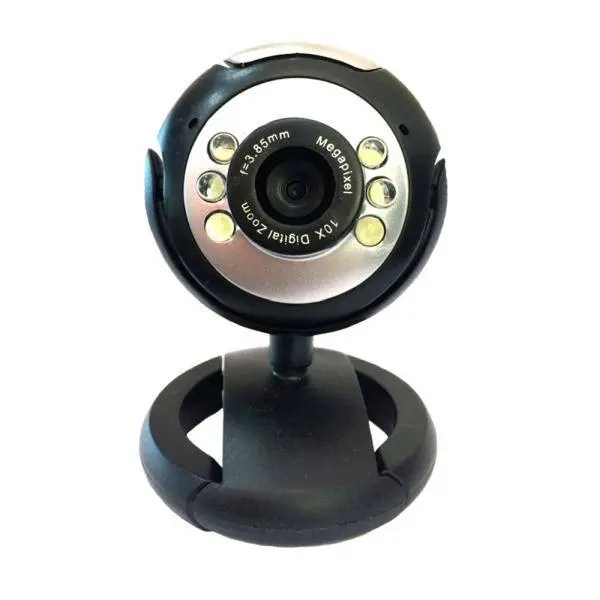 powertech pt509 web camera 1 3mp black 1