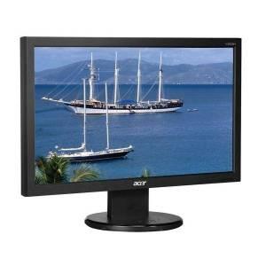 ref monitor tft acer 20 wide black vga v203h 1