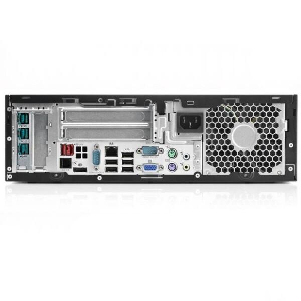 REF HP RP5800 SFF i5 2400 4GB 250GB DVD 7P bACK