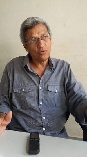 """""""É um absurdo o que se gastou na Copa do Mundo e Olimpíadas com verbas públicas no Rio de Janeiro"""", criticou Garcia. Foto: Eduardo Sá/Fazendo Media"""