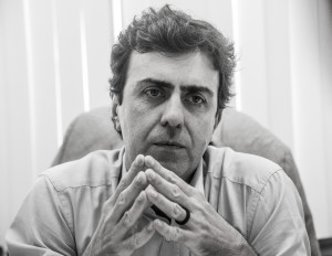 """""""O PT tem uma responsabilidade muito grande da crise da esquerda"""", criticou. Foto: Marcelo Santos Braga."""