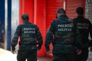 Policiais Militares do Espírito Santo. TÂNIA RÊGO / AGÊNCIA BRASIL