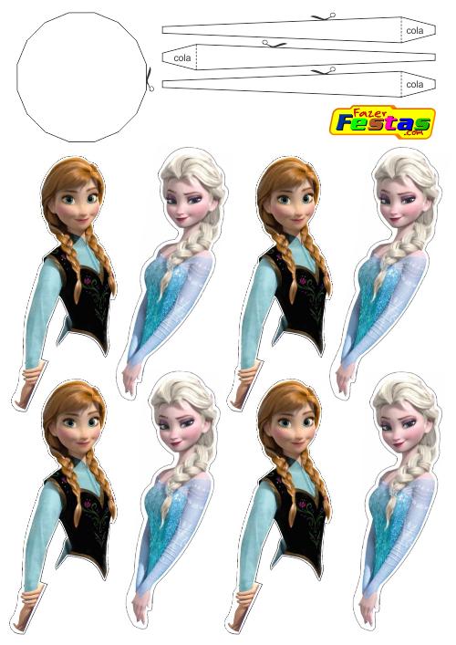 Molde-Vestido-Frizado-Porta-Trufas-01 Frozen