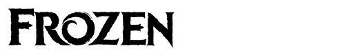 tipografia-Font-Frozen Font de Frozen
