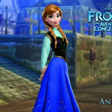 Wallpapers-frozen-Anna Papel de Parede Frozen