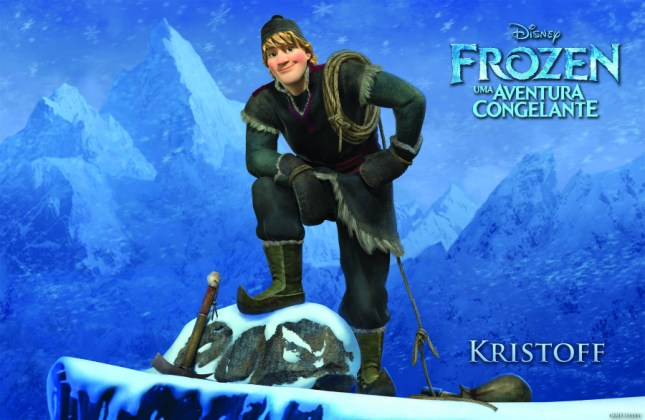 Wallpapers-frozen-Kristoff Papel de Parede Frozen