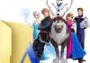 Tipografia de Frozen