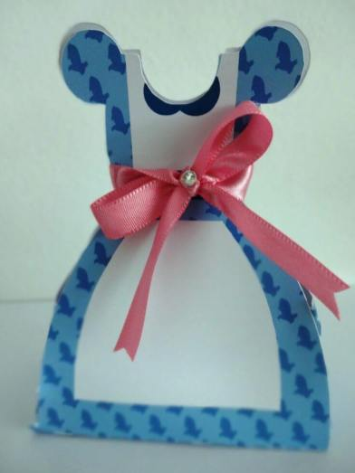 Lembrancinha-Vestido-caixa-para-festa-princesa-07 Moldes de Caixinhas Vestido - Princesas, Fadas, Noivas e Debutantes