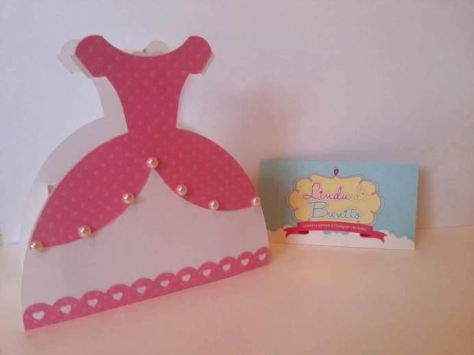 Lembrancinha-Vestido-caixinha-princesa-festas-02-1 Moldes de Caixinhas Vestido - Princesas, Fadas, Noivas e Debutantes