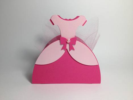 Lembrancinha-Vestido-caixinha-princesa-festas-05-1 Moldes de Caixinhas Vestido - Princesas, Fadas, Noivas e Debutantes