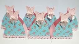 Lembrancinha-Vestido-simples-caixa-para-festa-02 Moldes de Caixinhas Vestido - Princesas, Fadas, Noivas e Debutantes