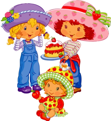 Turma-da-moranguinho-strawberry-shortcake-02 Imgens da Moranguinho