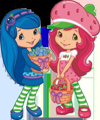 strawberry-shortcake-Nova-Moranguinho-e-sua-turma- Imagens da turma da nova Moranguinho