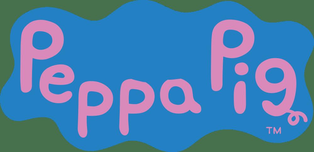 Peppa-Pig-Logo-Fundo-Fundo-Claro-02 Logo - Peppa Pig