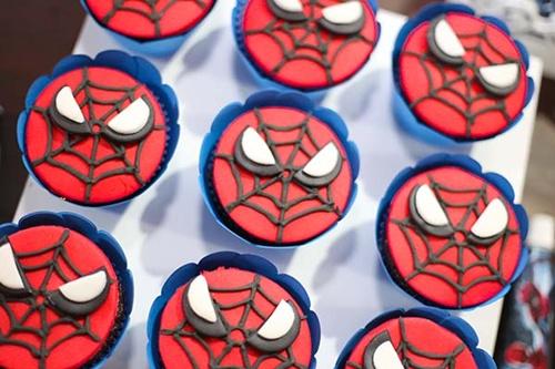 doces-0 Homem Aranha Festa infantil