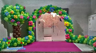 Balões-tema-festa-fazendinha-10 Idéias para festa Infantil com tema Fazendinha para meninos e meninas