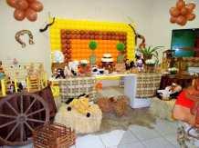 aniverssário-infantil-decoração-tema-festa-fazendinha-18 Idéias para festa Infantil com tema Fazendinha para meninos e meninas
