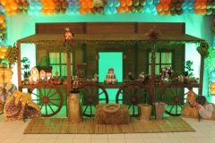 aniverssário-infantil-decoração-tema-festa-fazendinha-20 Idéias para festa Infantil com tema Fazendinha para meninos e meninas